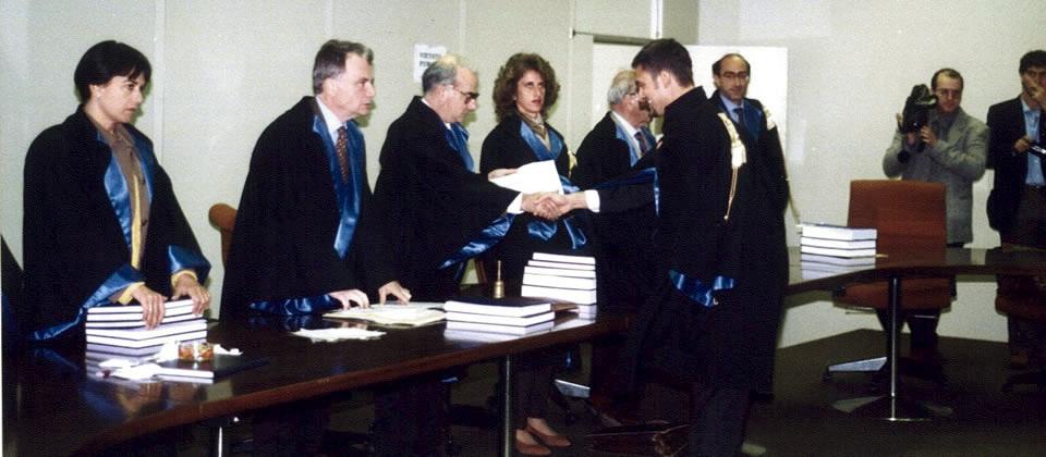 Laurea in Giurisprudenza 28 ottobre 1996